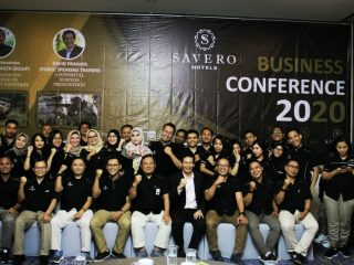 GELAR BUSINESS CONFERENCE, SAVERO HOTELS GROUP SONGSONG 2020 DENGAN OPTIMISME